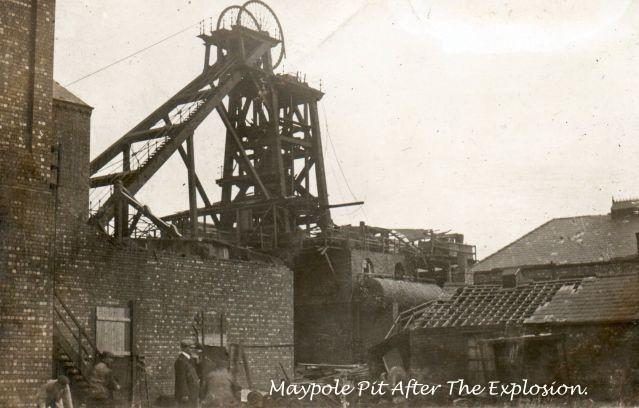 After the Disater Maypole Pit 1908