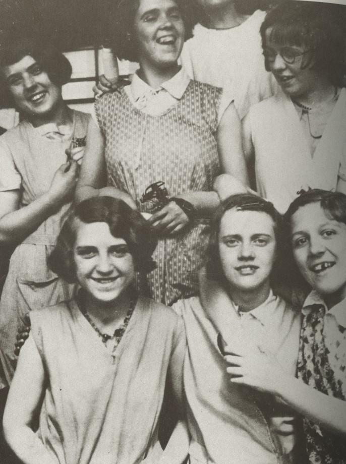 Mill Girls from MAY MILL 1930's