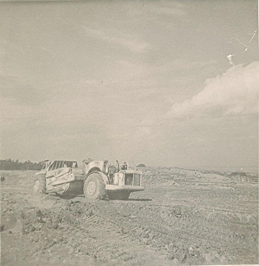 Earthmoving in Winstanley Park-29-09-1961