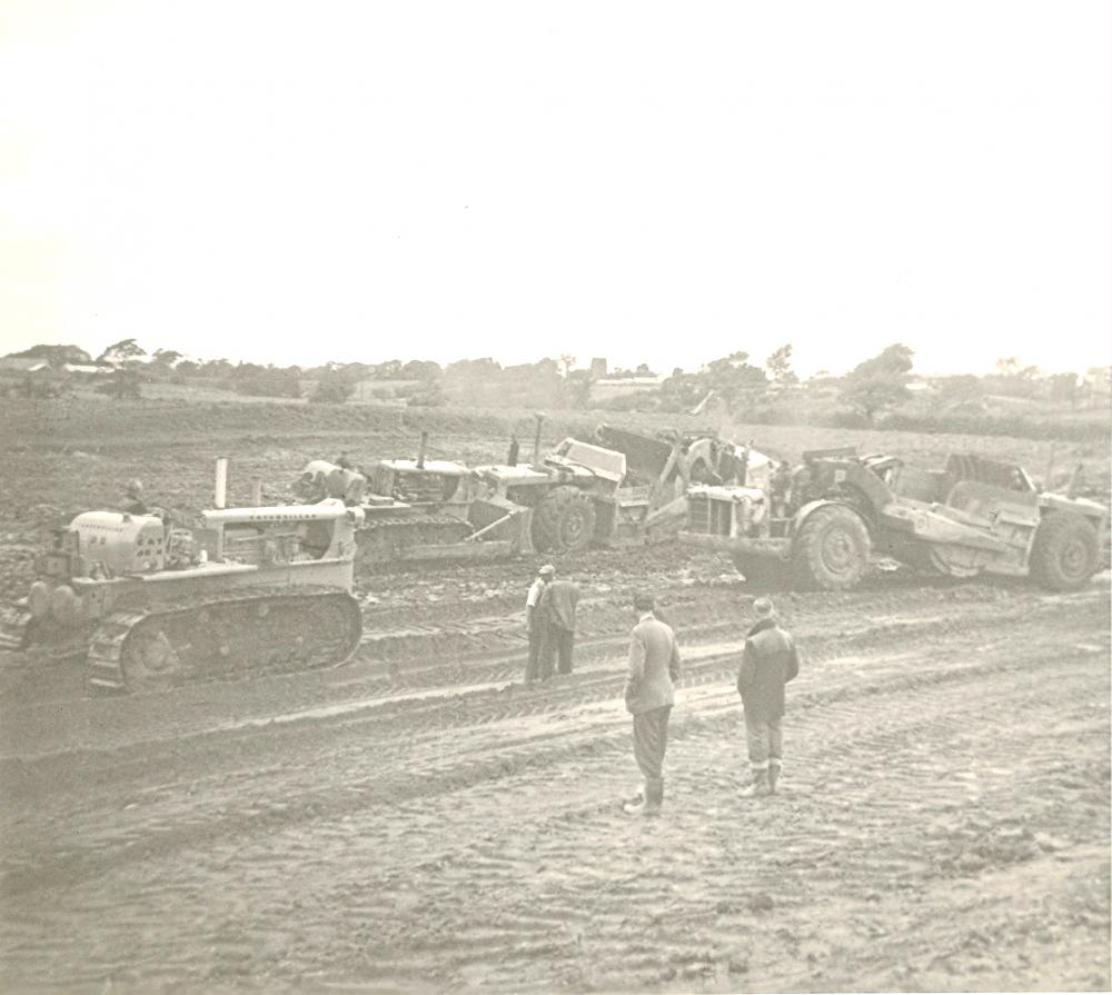 M6 Construction 15-08-1963.(Preston-Lancaster section)