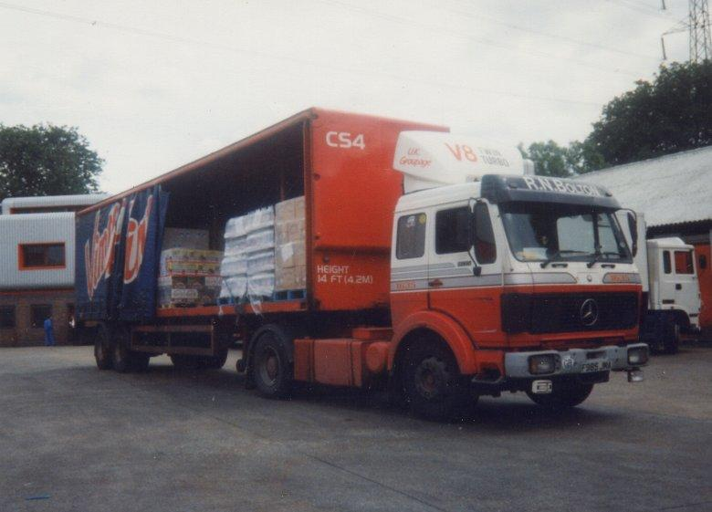Preparing to off load, 1992.