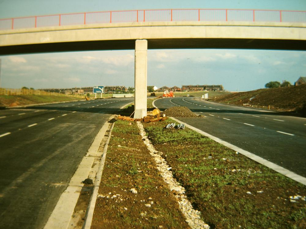M6 Construction Almost Complete Aprox 1963