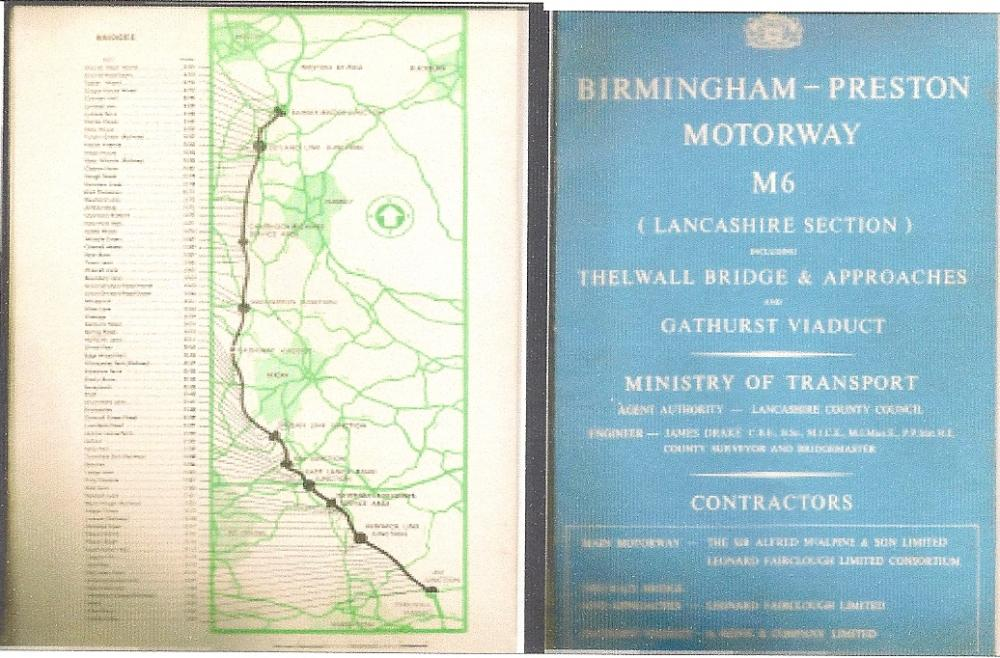 Cover of booklet produced by LCC & Sir Alfred McAlpine 1961.
