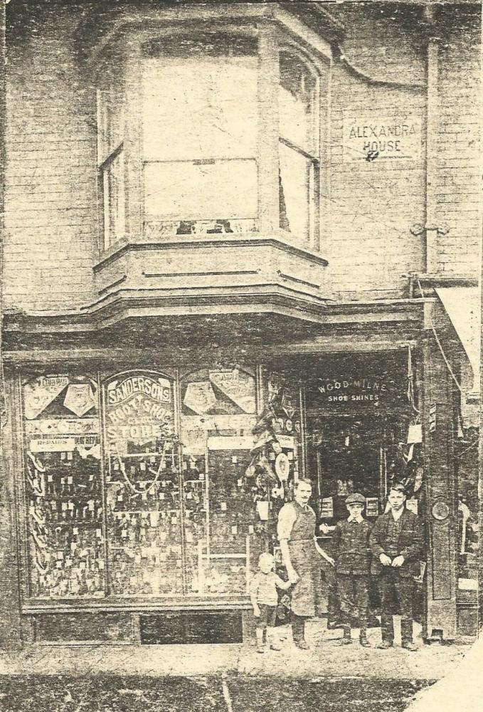 185 Manchester Road Ince c1912 Grandfathers Shop