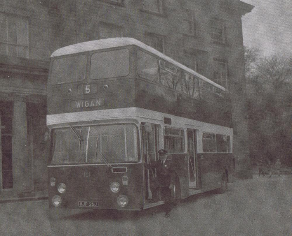 NEW DOUBLE DECKER 1970'S