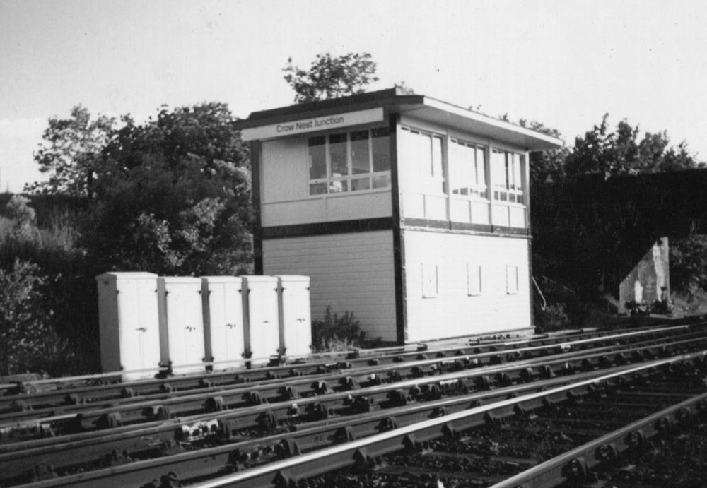 Crow Nest Junction Signal Box,Hindley 1990