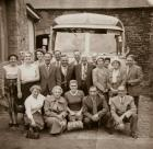 Wigan Corporation workers on an outing