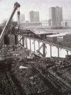 Pemberton loop line bridge demolition 1971 Poolstock Lane.