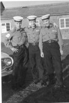 Me, left, and couple of Yorkshire lads. HMS Raleigh 1963