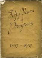 Front cover of the 50th Anniversary Booklet brought out by Lowe's Department Shop 1937.