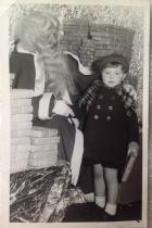 Father Christmas at Lowes in 1951.