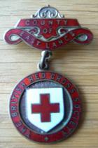 British Red Cross badge 1941
