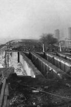 Pemberton loop line bridge demolition 1971