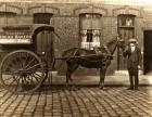 Horse and cart of Evans, Wholesale Bread Bakers, Ince