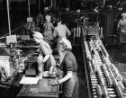 Women working at Munitions Plant 1951
