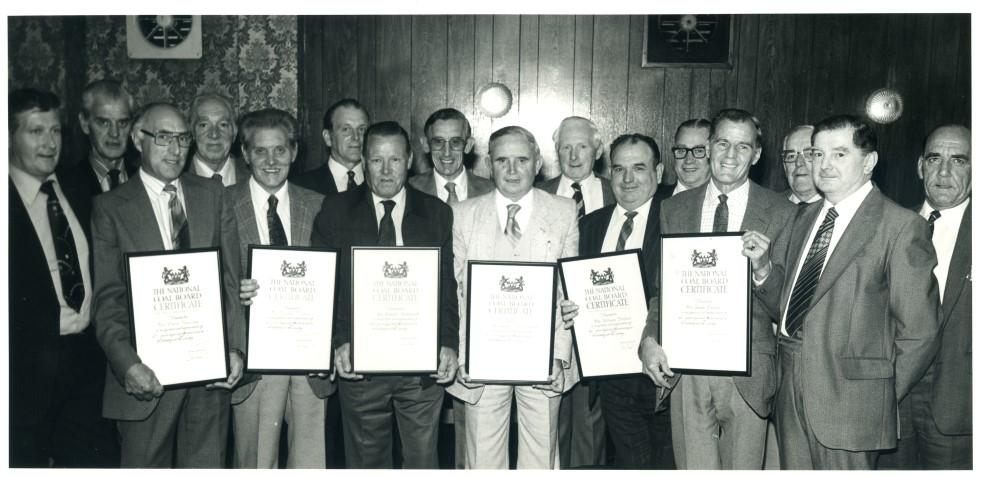PRESENTATION OF N.C.B. CERTIFICATES   3