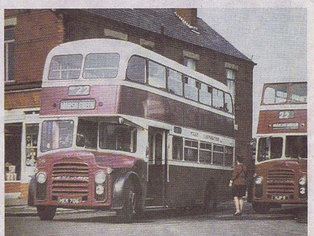 1960's buses at Norley Hall