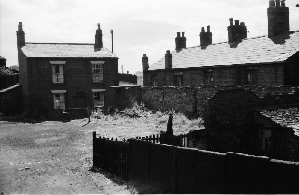 Cooper's Yard, Bridge Street, Hindley 1962