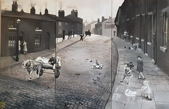 Great George Street 1940's and 50's.