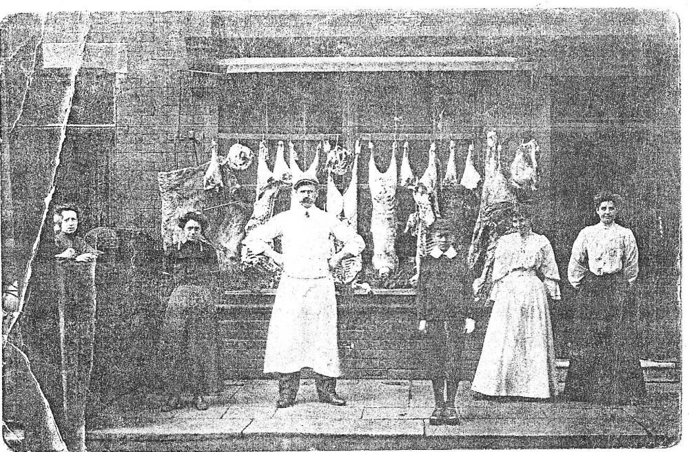 Butchers Shop Warrington Road, Abram.