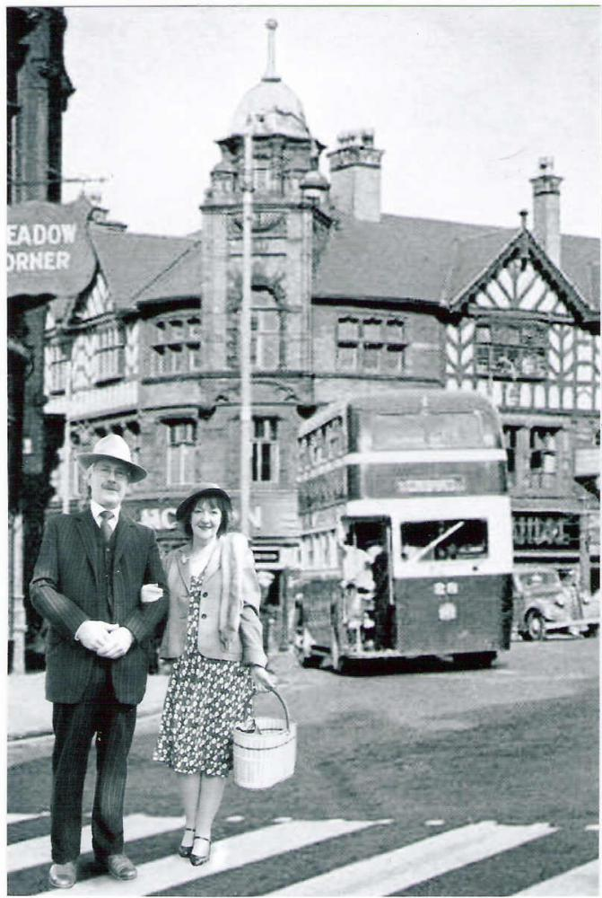 Peter and Irene in 1940s Wigan
