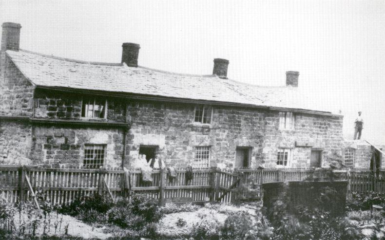 Tumbledown Cottages.