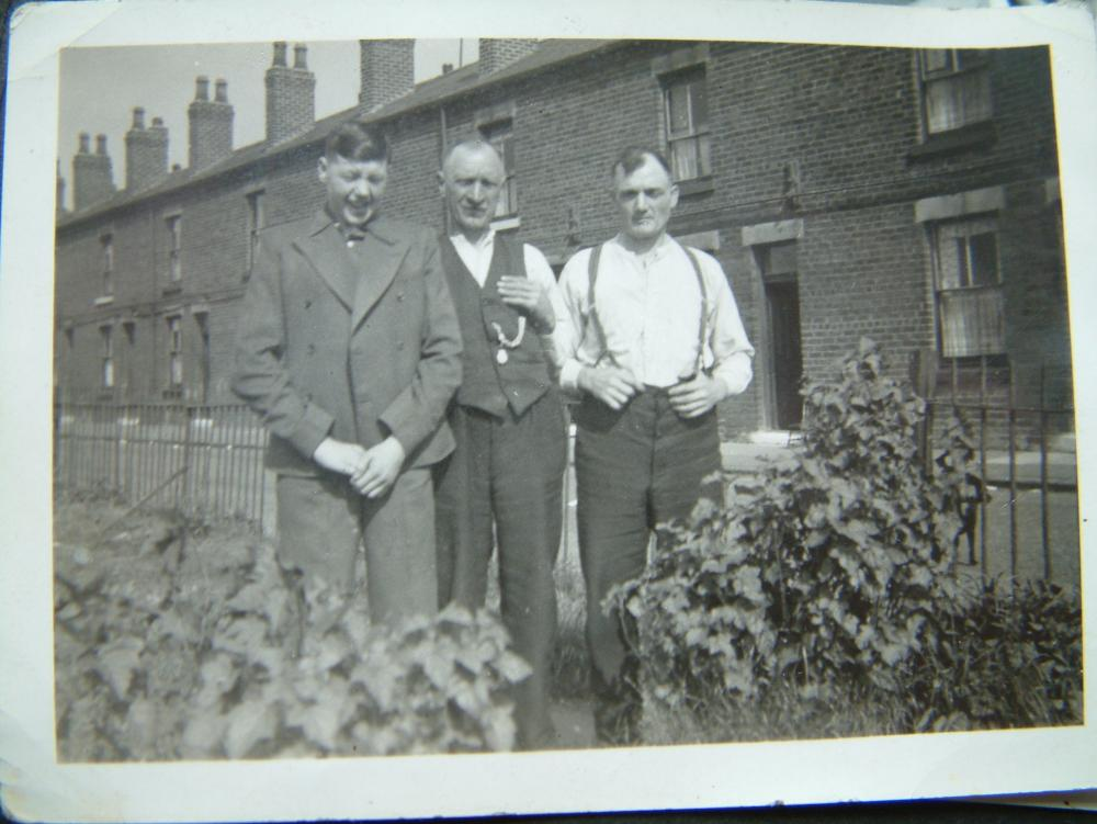 Uncle Bob, Uncle Dick and Grandad, Robert Harrison