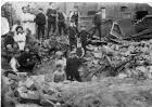 Devastation of Cecil St WW1 1918