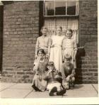 Children outside number 60