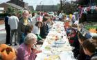 Mabel Street jubilee party 1977