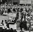 PRINCESS MARGARET, WIGAN TOWN HALL VISIT, MARCH 1950