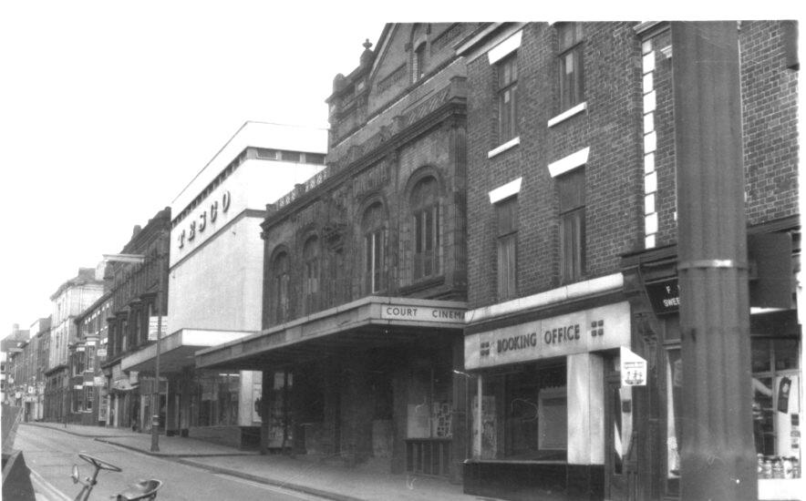 King st Court Cinema & orginal Tesco