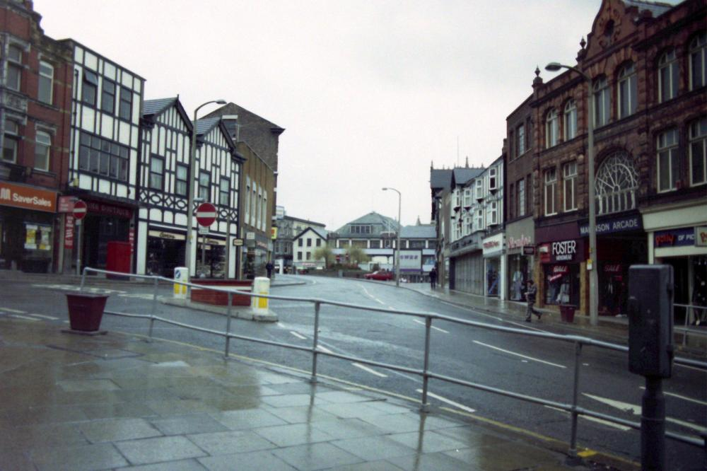 Market Place from Standishgate