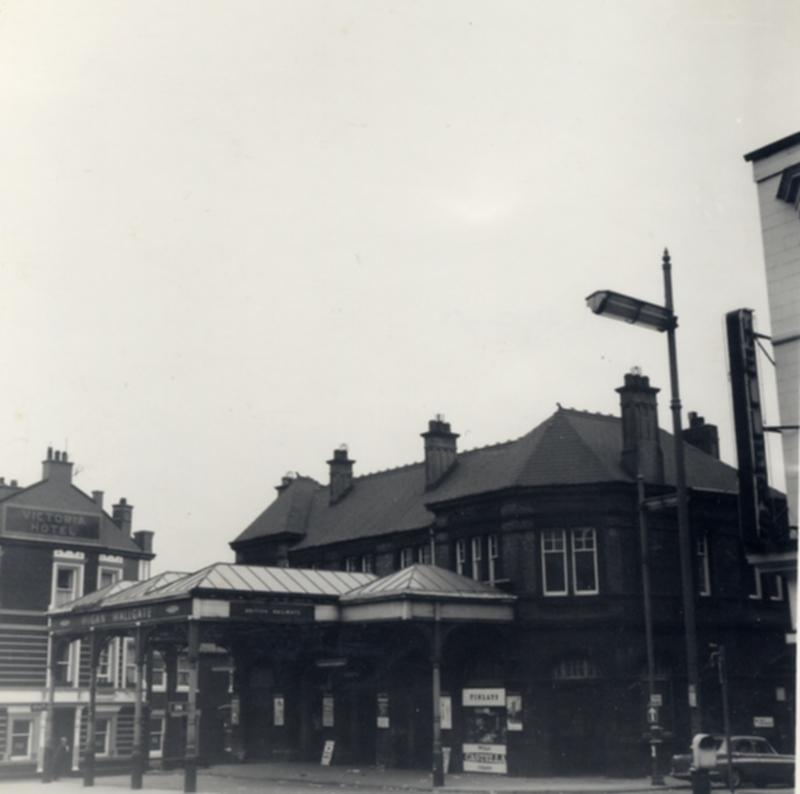 Wigan Wallgate Station c. 1960's