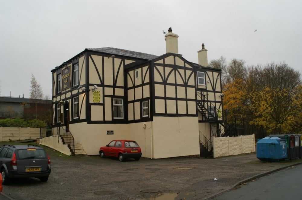The other side of the Kirkless Hall pub, 2008