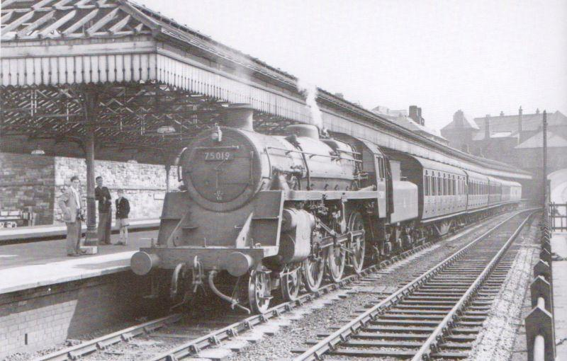 Wigan Wallgate Station 1955