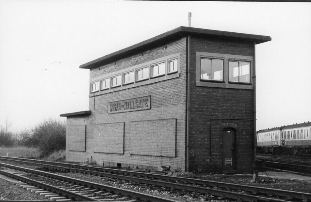 Wigan Wallgate Signal Box