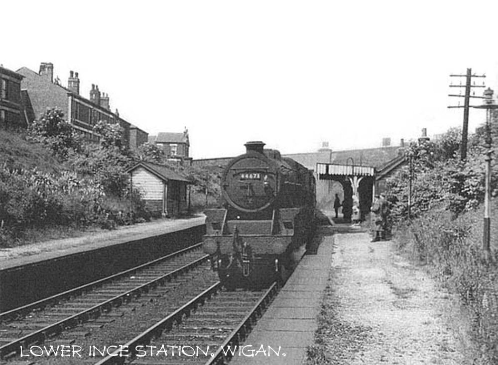 LOWER INCE STATION 1960's