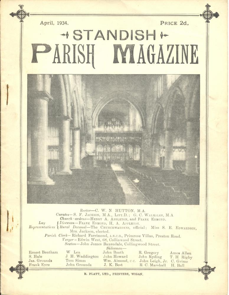 Standish Parish Magazine