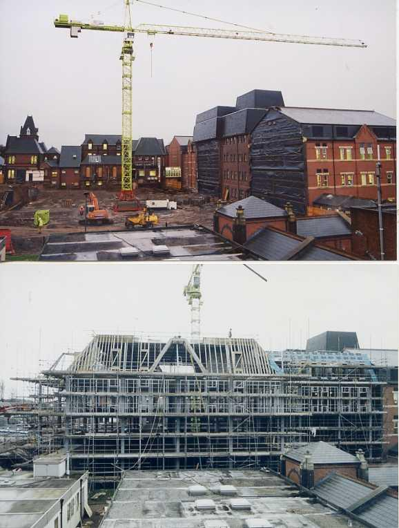 Wigan Infirmary: construction of new block 2003/4