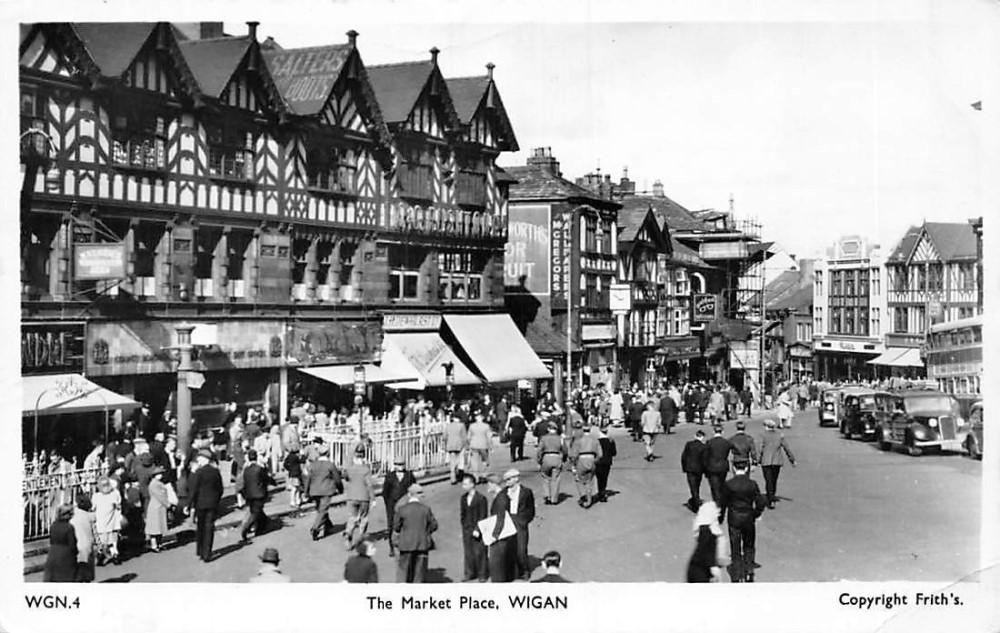 Market Place Late 40's Early 50's