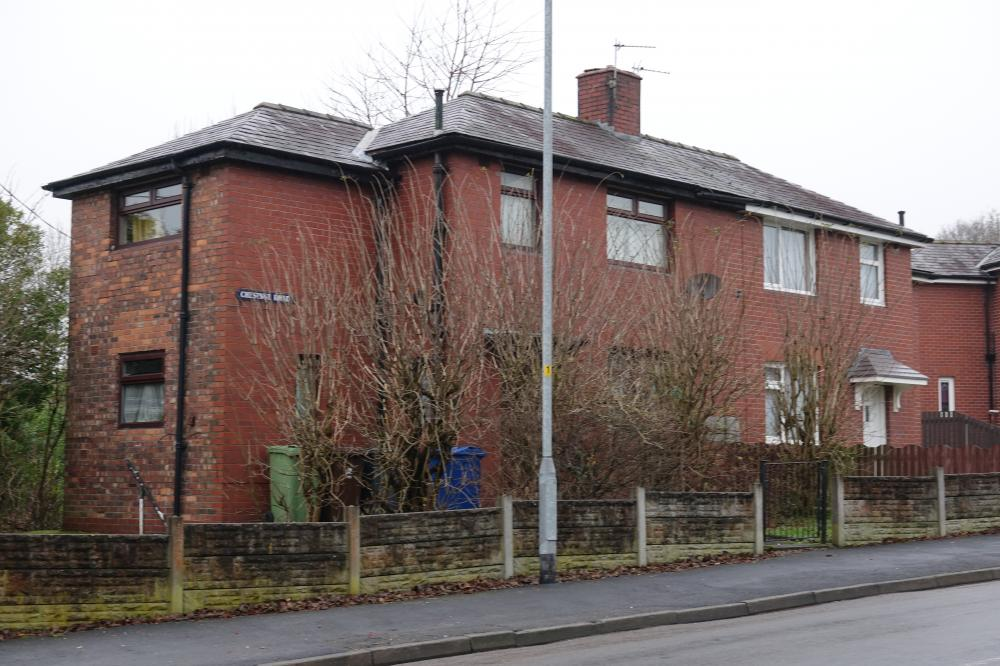 Wigan's first Council Houses?, Chestnut Road