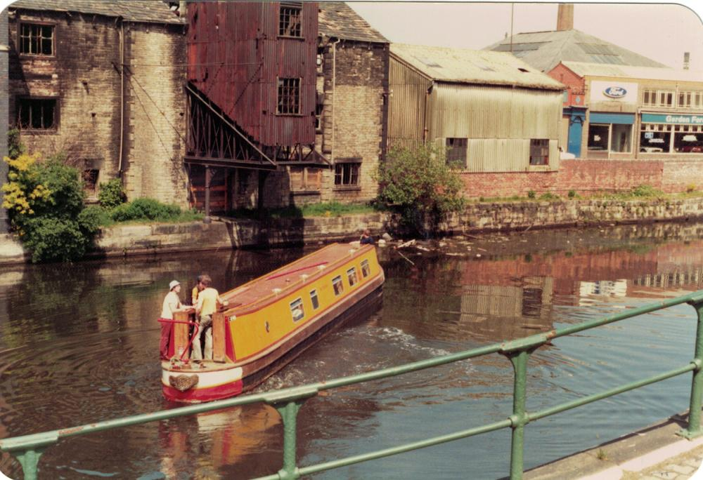 Wigan Pier before restoration