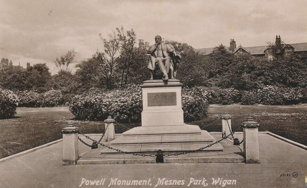 Powell Statue