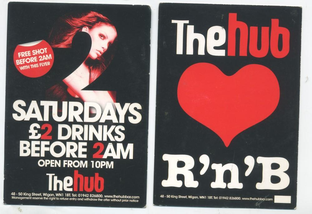 THE HUB ADVERTISING CARD  1