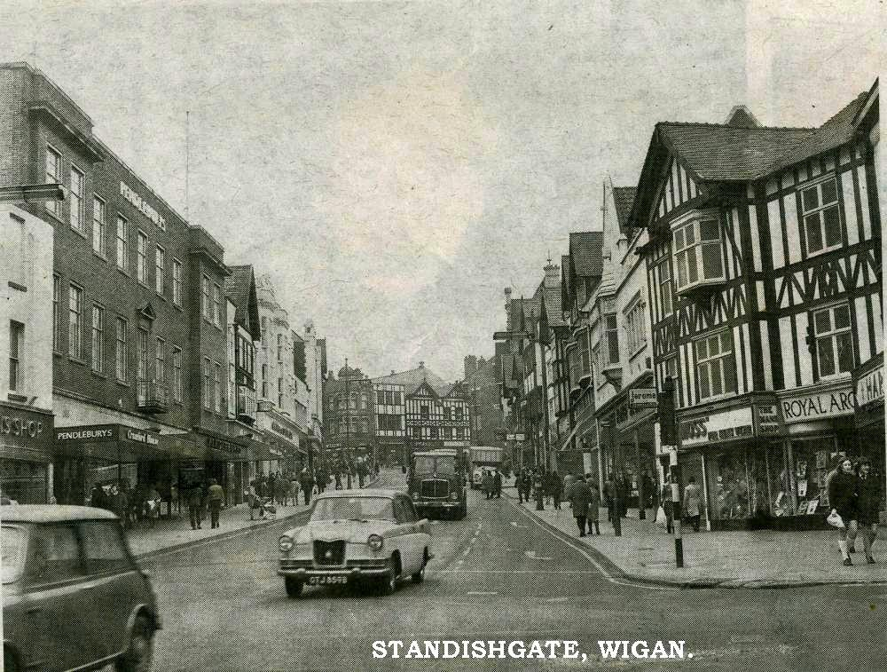 Ron's Pic Of Standishgate.