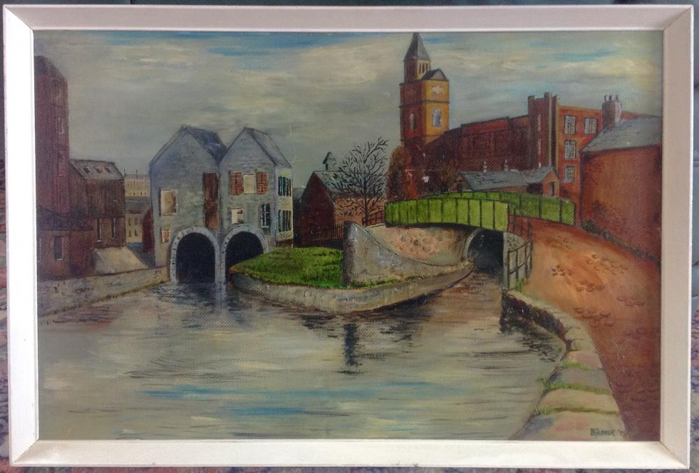 Yet another painting of Wigan Pier