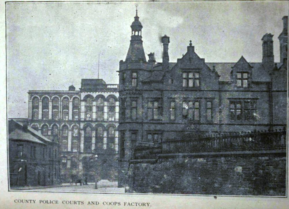 Old Courts  & Coops Building 1901