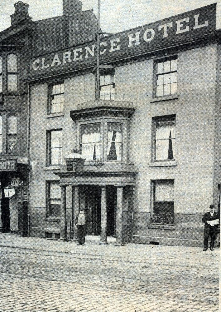 CLARENCE HOTEL 1898