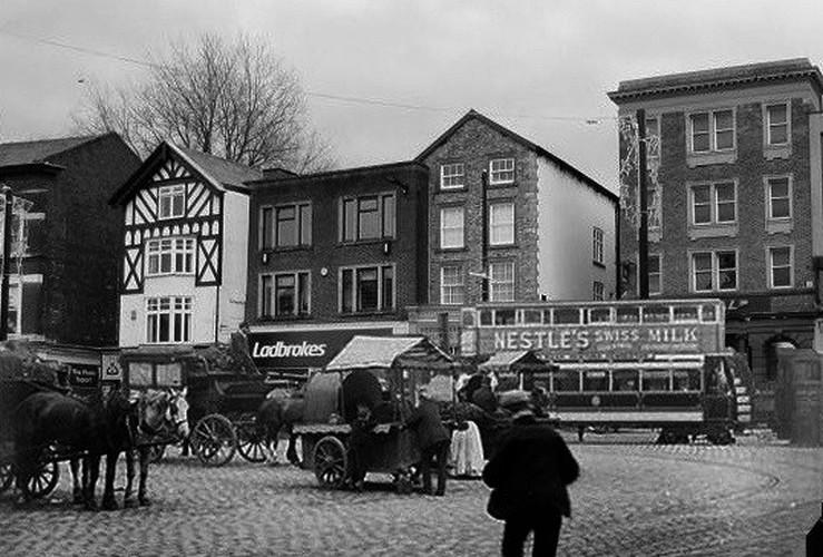 Market Place - Then and Now.